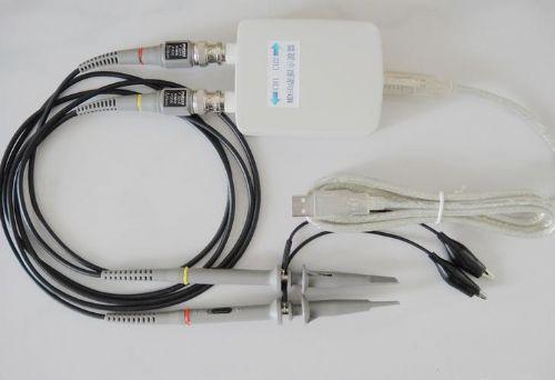 带宽20m*双通道usb*虚拟示波器 数据记录仪
