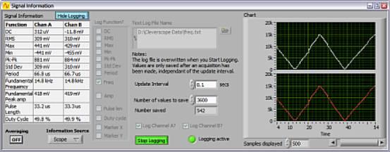 usb接口虚拟示波器 ,虚拟示波器使用